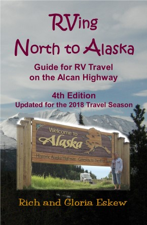 Front cover of Rving North to Alaska