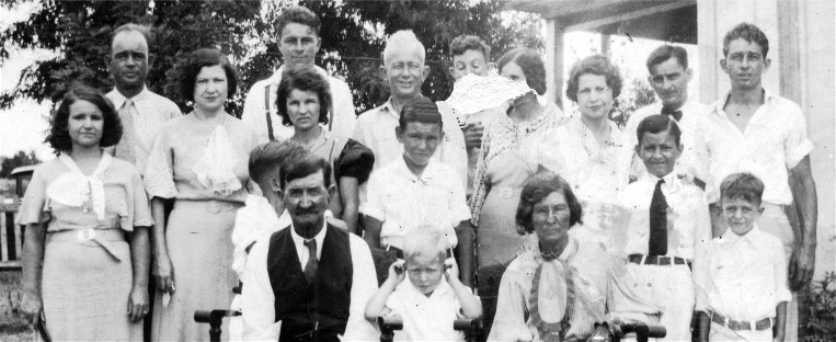 The Family of John and Rebecca James